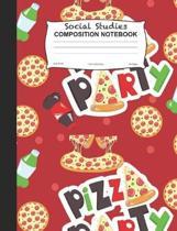 Social Studies Composition Notebook