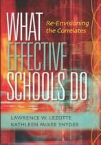 What Effective Schools Do