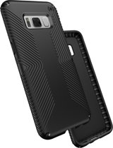 Speck Presidio Grip - Samsung Galaxy S8 Case - Black / Black