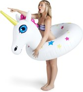 Eénhoorn Pool Float  - Pool Float Unicorn - Big Mouth grote opblaas zwemband -  122 cm.
