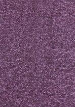 Modern effen vloerkleed Nasty - paars 200x200 cm