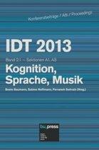 Idt 2013 Band 2.1 Kognition, Sprache, Musik