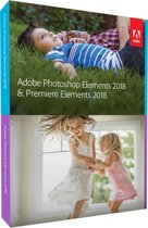 Adobe Photoshop Elements & Premiere Elements 2018 - Engels/ Frans - Mac