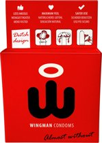 Wingman Condooms 3 pack