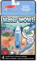 Melissa & Doug Water WOW! Herbruikbaar kleurblok met verborgen afbeeldingen - Onder de zee