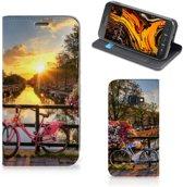Samsung Galaxy Xcover 4s Book Cover Amsterdamse Grachten