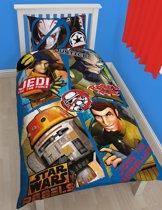 Disney Star Wars Rebels - Dekbedovertrek - Eenpersoons - 135x200 cm - Multi