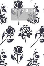 Muster Pattern Pflanzen Blumen Rose Rosen Schwarz Weiss: - 111 Seiten - EXTRA Kalender 2020 - Einzigartig - Kariert - Karo - Raster - Geschenk - Gesch