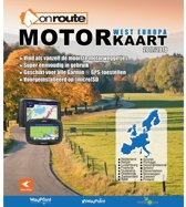 OnRoute Motorkaart West-Europa 2017/2018 (micro)SD