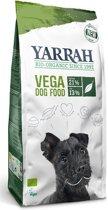 Yarrah dog biologische brokken vega baobab / kokosolie hondenvoer 10 kg
