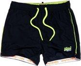 Superdry  Beach Volley Swim  Zwembroek - Maat XL  - Mannen - navy/geel