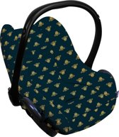 Dooky Seat Cover 0+ - Autostoel hoes - Golden Bee
