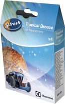 AS CO S-FRESH Tropical Breeze stofzuiger geurkorrels, geurparels, luchtverfrisser