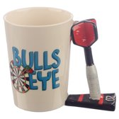 Dart sport beker mok darts bulls eye darten