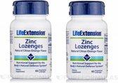 Zinc Lozenges, 60 Vegetarian Lozenges, 2-pack