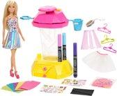 Barbie Crayola Confetti Rokjes-studio - Speelset met Barbiepop