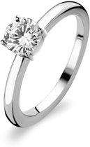 TI SENTO Milano Ring 1855ZI - Maat 54 (17,25 mm) - Gerhodineerd Sterling Zilver