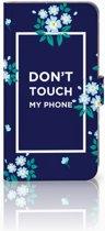 Huawei Mate 9 Boekhoesje Flowers Blue DTMP