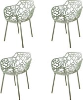 DS4U Cast Magnolia Stoel - Set van 8 - Avocado