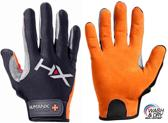 Men's X3 Competition Crossfit Fitness Handschoenen Orange/Gray-L