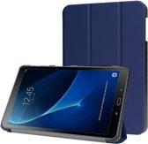 Tablethoes voor Samsung Galaxy Tab A 10.1 Inch / Tab A6 10.1 (2016), tri-fold case, donker blauw