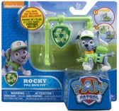 Paw Patrol pull back pup - Rocky