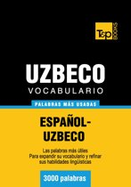 Vocabulario Español-Uzbeco - 3000 palabras más usadas