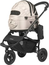 Airbuggy hondenbuggy dome2 sm met rem sand beige 53x31x52 cm / 96x53,5x99 cm
