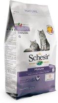 Schesir Cat Dry Senior Kip - Kattenvoer - 1.5 kg