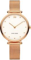 Danish Design IV67Q1229 horloge dames - ros� - edelstaal PVD ros�