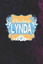 I Love Being Lynda