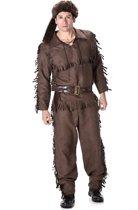 Karnival Costumes Verkleedkleding Stropers Kostuum voor mannen Bruin - XL