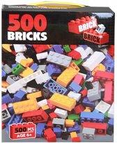 500 bouwstenen in doos