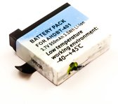 Battery GoPro Hero 4, Li-ion, 3,8V, 1000mAh, 3,8Wh, low temperature working environment: -40 ~ +45°C