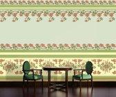 Fotobehang Papier Klassiek | Groen, Geel | 368x254cm