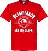 Olympiakos Established T-Shirt - Rood - XXL