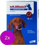 Novartis Milbemax Kauwtablet Hond - Anti wormenmiddel - 2 x Kip 28 g 4 stuks Vanaf 5 Kg