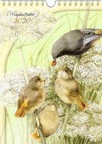 Marjolein Bastin Weekkalender 2020 BIRDS