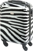 Princess Traveller Zebra Handbagage Koffer – 55 cm – 26 l. – Zebra print