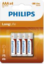 48 Philips AA Batterijen - Longlife 2.0
