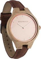 De officiële WoodWatch   Rose Ocean Pecan   Houten horloge dames