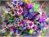 Diamond painting - vlinder - 30 x 40 cm