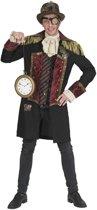 Steampunk Kostuum   Steampunk Jules Verne Jas   Man   Maat 60-62   Carnaval kostuum   Verkleedkleding