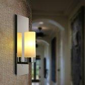 Moderne minimalistische slaapkamer bed creatieve Candelabrum galvaniseren wand lamp  Power Bron: wit licht LED5W (single head)