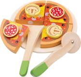 "New Classic Toys - Speelgoed Snijset - Pizza ""Salami"""