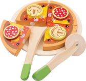 "New Classic Toys - Speelgoed Snijset - Pizza ""Salami"""