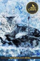 Meow Covers Ruled Notebook- 6 X 9 - 100 Sites