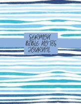 Sermon Bible Notes Journal