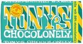 Tony's Chocolonely reep Wit 28% Stracciatella - 180 gram