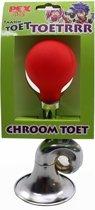 PexKids Claxon/balhoorn Posthoorn chroom op kaart